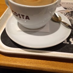 Photo taken at Costa Coffee by Adrian B. on 1/3/2014