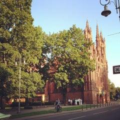 Photo taken at Šv. Onos Bažnyčia   St Anne's Church by Ora on 7/29/2013