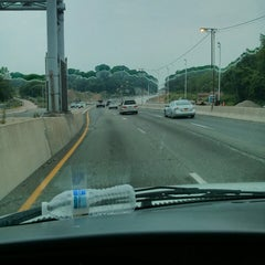 Photo taken at Interstate 278 (Staten Island Expy) by Douglass B. on 7/10/2013