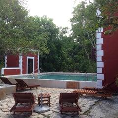 Photo taken at Hacienda Santa Rosa by Alejandrina G. on 5/27/2015