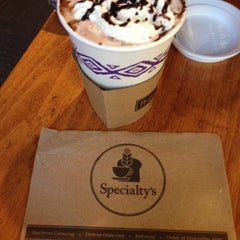 Photo taken at Specialty's Café & Bakery by John Jay M. on 10/29/2013