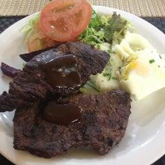 Photo taken at Santo Antônio Restaurante by Bruna G. on 7/30/2013