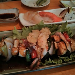 Photo taken at Okoze Sushi by Noriko K. on 8/2/2013