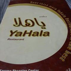 Photo taken at Yahala Restaurant by Denesh H. on 6/13/2013