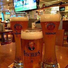 Photo taken at Erdinger Weißbier Sportsbar by Sergey S. on 8/27/2013