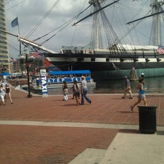 Photo taken at Water Taxi Landing 2 - Harborplace by Stephon B. on 8/30/2013