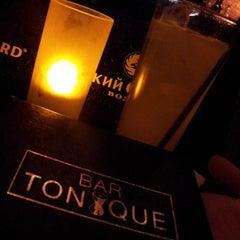 Photo taken at Bar Tonique by John G. on 4/23/2013
