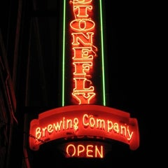 Photo taken at Stonefly Brewery by John G. on 1/14/2013
