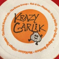 Photo taken at Krazy Garlik by Thina V. on 1/27/2013