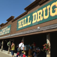 Photo taken at Wall Drug by Melissa K. on 7/4/2013