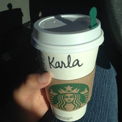 Photo taken at Starbucks by Karla A. on 10/3/2013