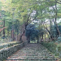 Photo taken at 釈迦山 百済寺 by 路地裏の少年 on 11/13/2015