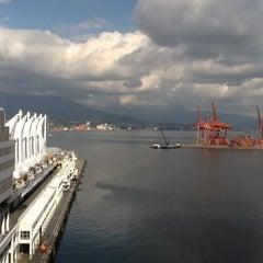 Photo taken at The Fairmont Waterfront by Karen S. on 4/8/2013
