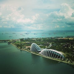 Photo taken at The Singapore Flyer by Pavel K. on 5/3/2013