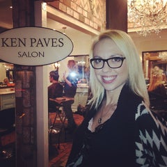 Photo taken at Ken Paves Salon by Chrystall F. on 1/30/2014