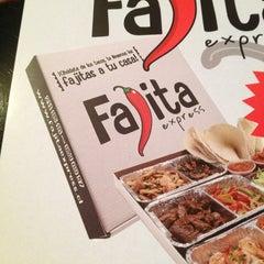 Photo taken at Fajita Express by Luis Z. on 9/17/2013