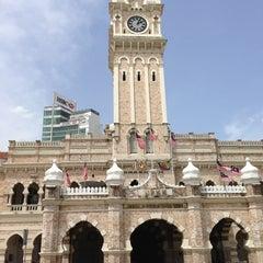 Photo taken at Bangunan Sultan Abdul Samad by EmiliyaM on 6/18/2013