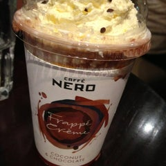 Photo taken at Caffè Nero by Hanna Y. on 9/12/2013