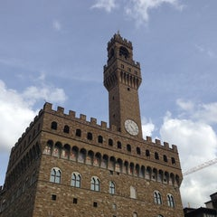 Photo taken at Palazzo Vecchio by Carlos V. on 5/31/2013