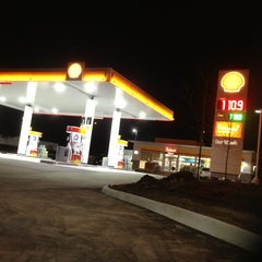 Photo taken at Shell by Nick on 11/30/2014