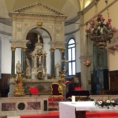 Photo taken at Chiesa di Santa Maria Formosa by Dominic B. on 3/2/2015