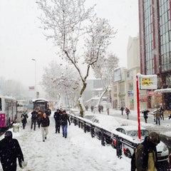 Photo taken at Sanayi Metro İstasyonu by Meral G. on 12/12/2013