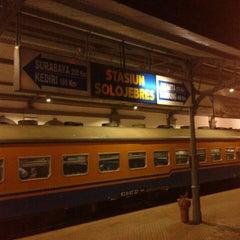 Photo taken at Stasiun Solo Jebres by Prasepvianto on 8/3/2014