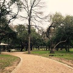 Photo taken at Springwoods Park by Jason D. on 1/1/2016