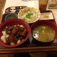 Photo taken at すき家 鹿児島下荒田店 by 123kmorita !. on 8/24/2012