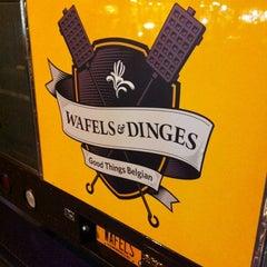 Photo taken at Wafels & Dinges - Vedette Cart by Alex S. on 4/7/2012