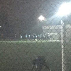 Photo taken at Abdurrahman Temel Futbol Sahası by Mert Ö. on 11/25/2015