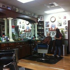 Photo taken at Jonesville Barbershop by Keith F. on 2/26/2013