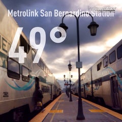 Photo taken at Metrolink San Bernardino Station by Eric B. on 11/10/2013