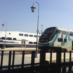 Photo taken at Metrolink San Bernardino Station by Eric B. on 4/12/2013