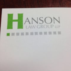 Photo taken at Hanson Law Group by Kim S. on 10/11/2013