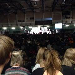 Photo taken at Haderslev IdrætsCenter by Karoline T. on 11/12/2013