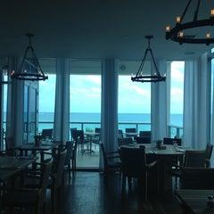 Photo taken at Alba Seaside Italian by DiningOut M. on 4/17/2013