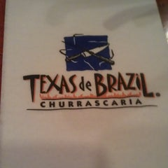 Photo taken at Texas de Brazil by Andres P. on 5/4/2013