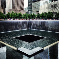 Photo taken at National September 11 Memorial & Museum by Brandon R. on 6/8/2013