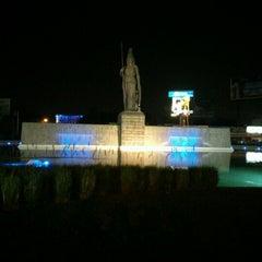 Photo taken at Glorieta Fuente La Minerva by Mario T. on 11/17/2012