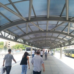 Photo taken at Avcılar Metrobüs Durağı by Cüneyt Y. on 7/14/2013