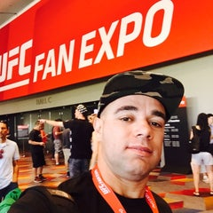Photo taken at UFC Fan Expo by SKYWALKERS53 . on 7/11/2015