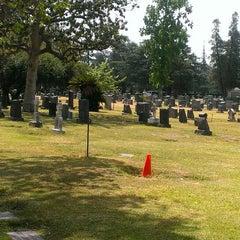 Photo taken at Mountain View Cemetery by Rita on 5/8/2014