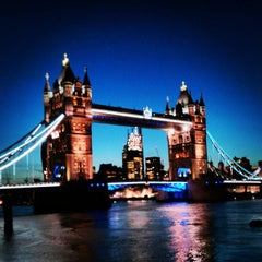 Photo taken at Tower Bridge by Rachel L. on 6/4/2013