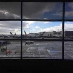 Photo taken at Gate 57 by H A. on 1/31/2016