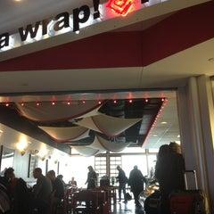 Photo taken at Itza Wrap! Itza Bowl! by loretta a. on 2/14/2013