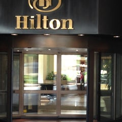 Photo taken at Hilton New Orleans Riverside by Miley on 7/15/2013