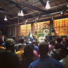 Photo taken at Brooklyn Brewery by Jonathan S. on 7/28/2013
