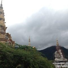 Photo taken at วัดพระธาตุผาซ่อนแก้ว (Wat Phra That Pha Son Kaew) by Pattarasiri T. on 6/22/2013