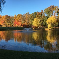 Photo taken at Malapardis Park by Amy C. on 10/30/2015